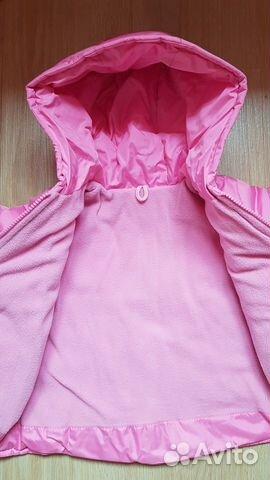 Курточка весенняя размер 80 89086455308 купить 4