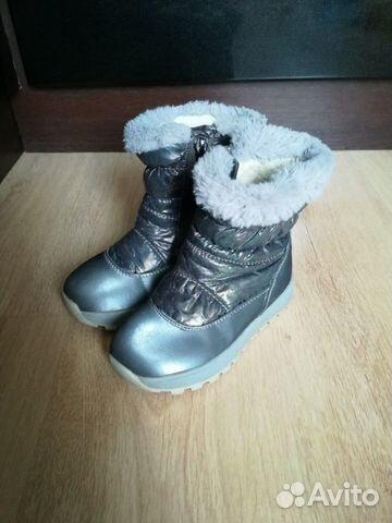 Зимние сапоги для девочки р-р 28 89515683333 купить 3