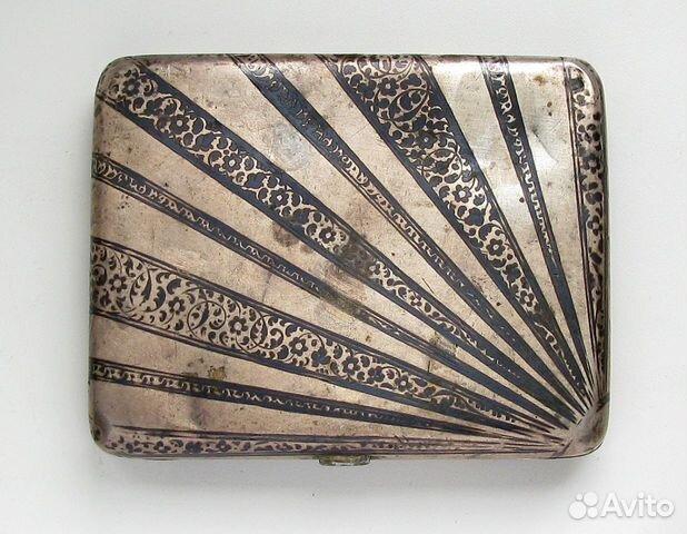 Серебряные портсигары и визитницы, купить портсигар