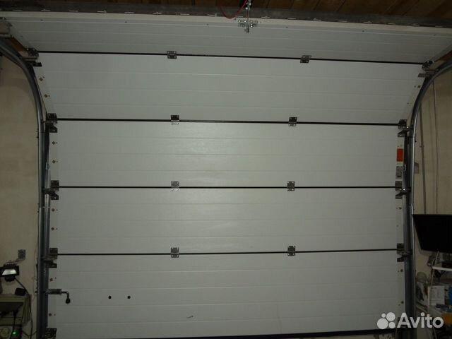 Гаражные секционные ворота Алютех (2700x2525мм) 89503511255 купить 2
