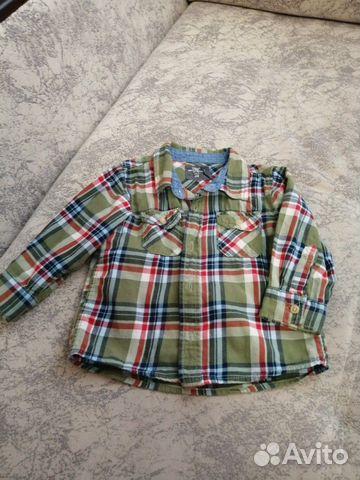 Рубашка размер 80 89050840404 купить 1
