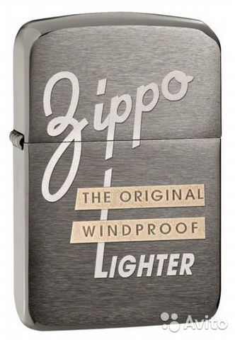 "Zippo Оригинал made in USA ""Original wind""— фотография №1"
