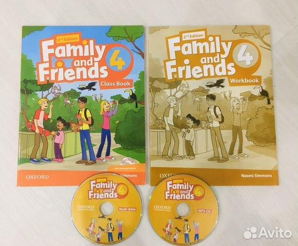Family and Friends 4, второе издание