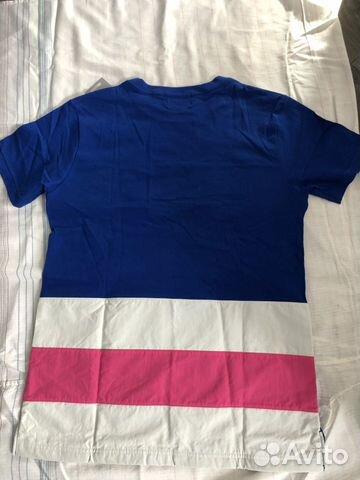 Asics футболка color block short sleeve T размер L купить 5