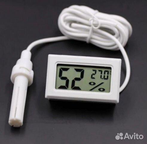Термометр-гигрометр цифровой с зондом 89186760519 купить 1