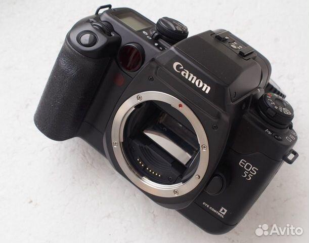 Canon EOS 50 Canon 55 Canon Elan II черный корпус купить 1