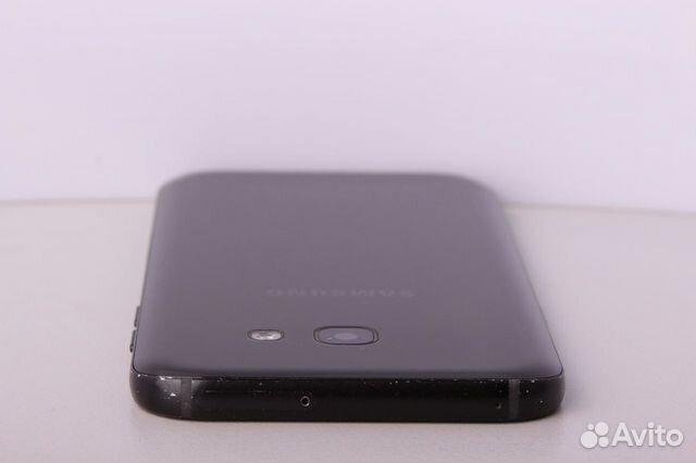 Телефон Samsung A520F/DS Galaxy A5 (2017) Black
