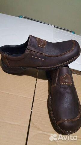 Кожаная обувь 45 размер (туфли)  89275064422 купить 6