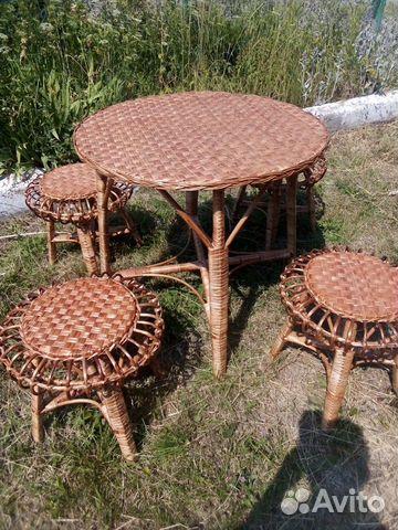 Комплект плетеной мебели  89805310848 купить 6