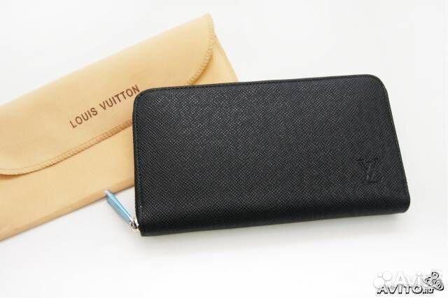 263b4193561d Мужской кошелек LV Louis Vuitton taiga купить в Москве на Avito ...