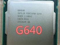 Intel Pentium G640 Сокет 1155