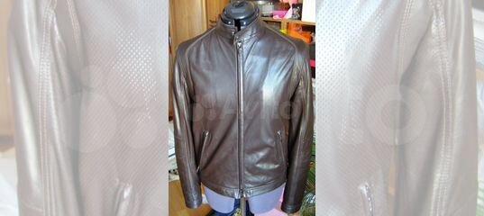 c7cdb407cf7e Armani Collezioni, новая кожаная куртка, оригинал купить в Москве на Avito  — Объявления на сайте Авито