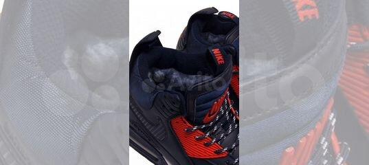 d9057806 Nike AIR MAX 90 sneakerboot FUR blue купить в Тюменской области на Avito —  Объявления на сайте Авито