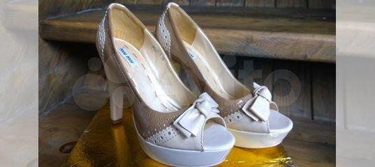 32f369ffb539 Кожаные туфли, ботильоны, Эконика, новые, 39 купить в Москве на Avito — Объявления  на сайте Авито