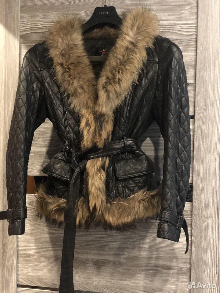 Куртка с мехом  89650094215 купить 1