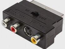 Scart RCA S-Video адаптер