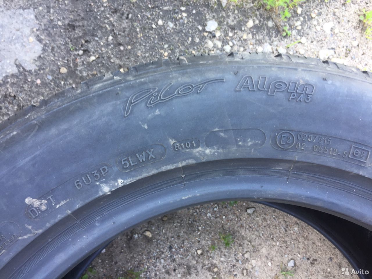 225/55 R16 Michelin Pilot Alpin  89211101675 купить 4