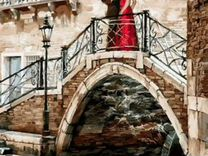 Картины по номерам 40*50 Влюбленные на мосту