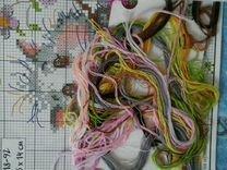 Схема для вышивки Хомячок с остатками ниток — Коллекционирование в Екатеринбурге