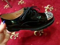 Новые натуральные кожаные/замшевые ботинки