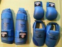 Защита голени, футы, перчатки