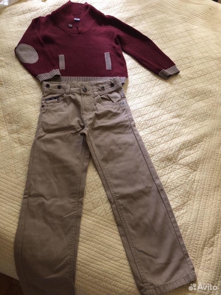 Пуловер на мальчика от 4-6 лет