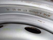 Летние колеса R15 на Ниву, Hankook 205/70 + штампы