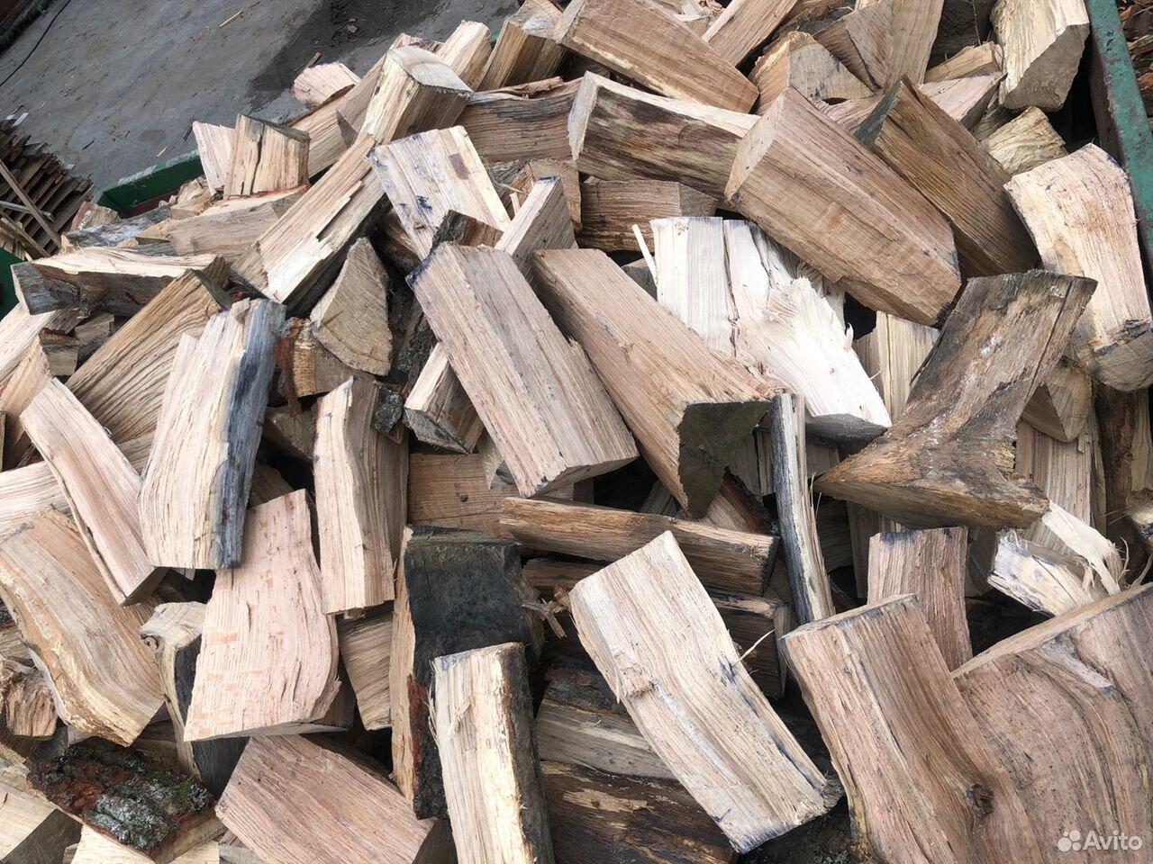 Дрова колотые смешанка ольха, дуб, ясень 33 см