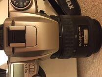 Фотоаппарат плёночный зеркальный Pentax MZ-50. Объ