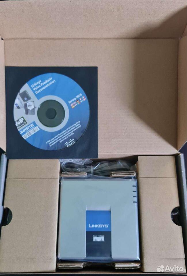 Sip шлюз Cisco Linksys PAP2T