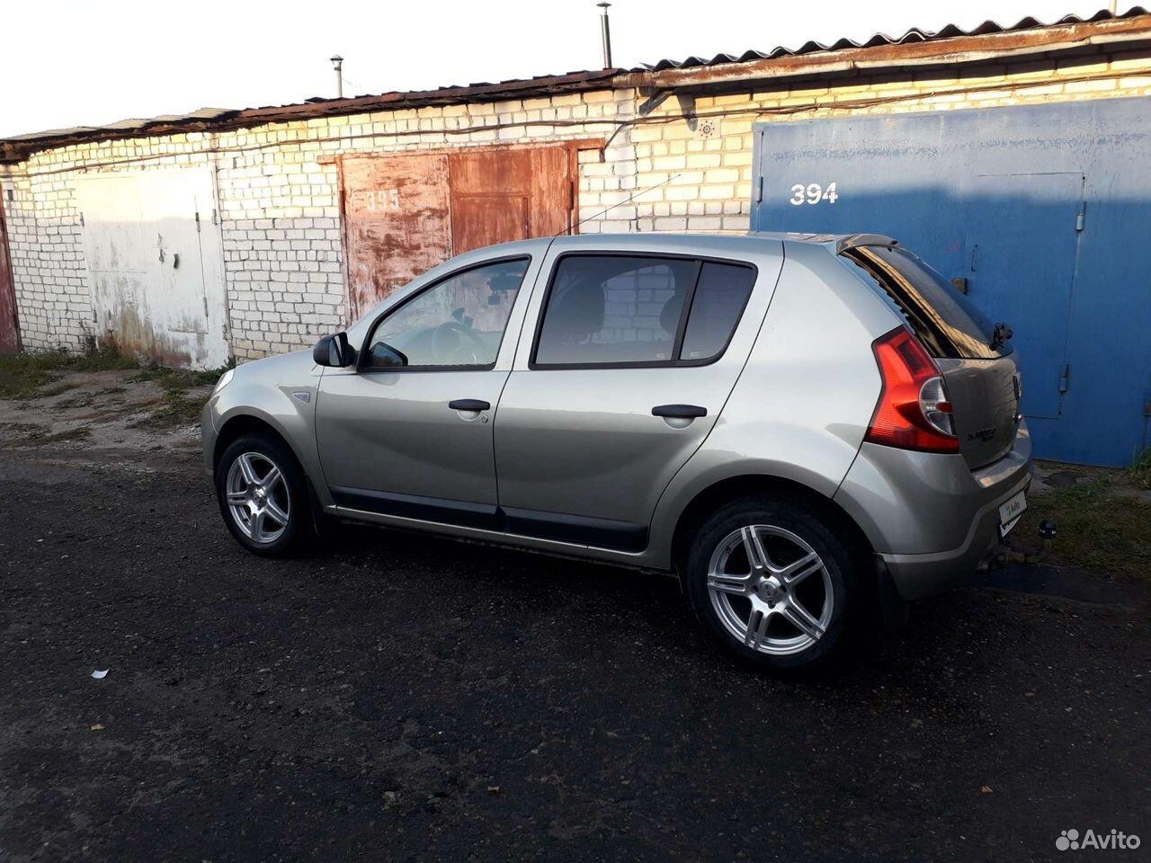 Renault Sandero, 2009  89600965960 купить 2