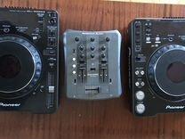 Pioneer cdj 1000 mk3 + American audio q-d1pro