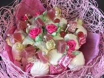 Букеты из сладостей,орехов,фруктов,мужские букеты