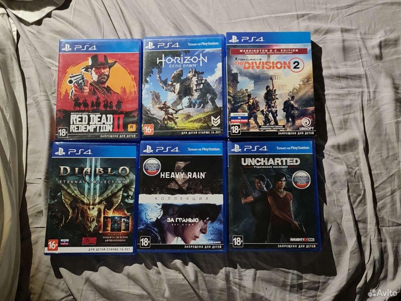Набор игр для PS4