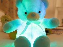 Светящийся мягкий мишка