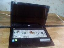 Ноутбук Асер Асперия Е1 на разбор