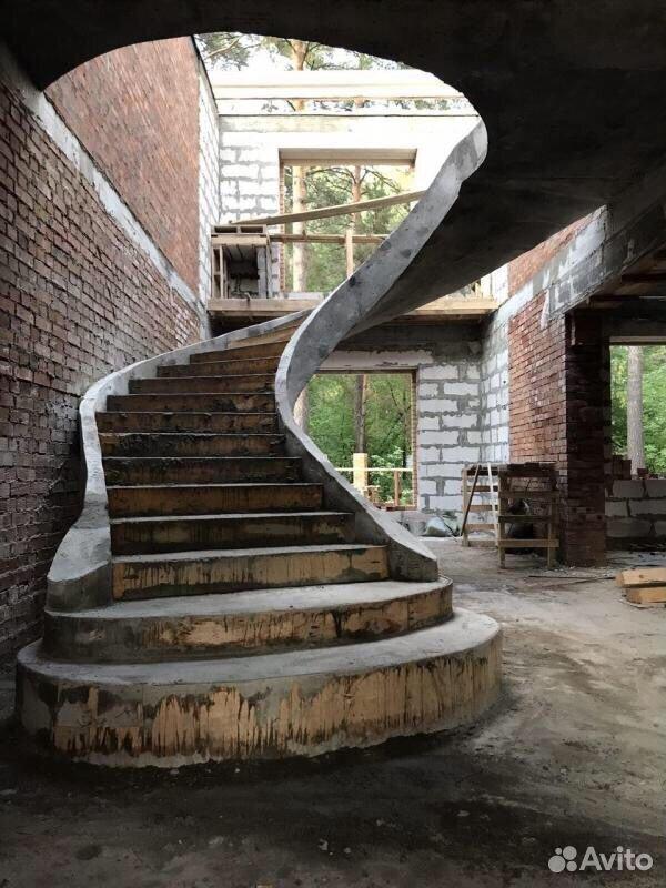 Заливка монолитных лестниц  89288668660 купить 8