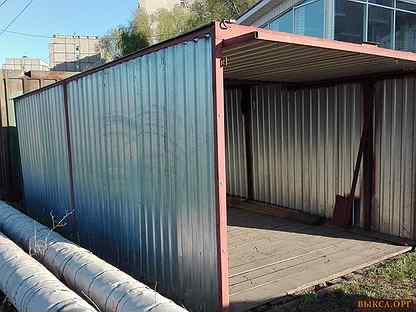 Разборный гараж-ракушка