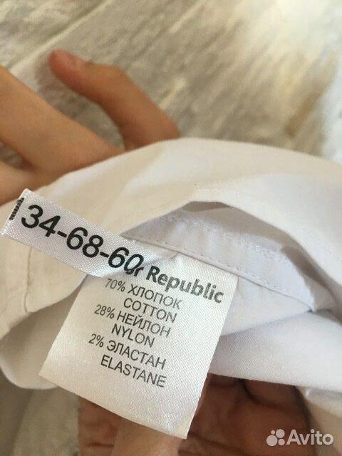 Белая рубашка Junior Republic, 128-134 см  89061562217 купить 4