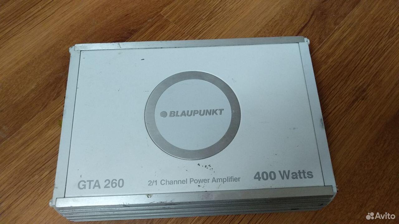 Усилитель Blaupunkt gta 260  89307556035 купить 1