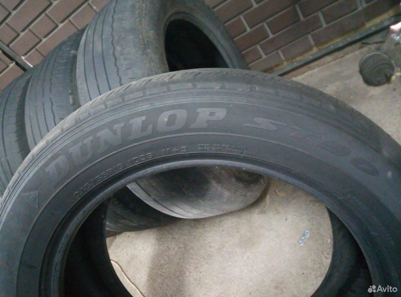 Dunlop grandtrek 245/55 r19 летние  89506888835 купить 4