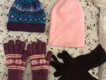 Шапка перчатки женские зима — Одежда, обувь, аксессуары в Санкт-Петербурге
