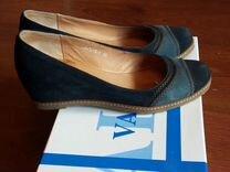 Туфли из натуральной замши valley