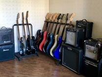 Электрогитара+комбик+чехол: гитары на выбор
