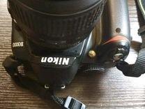 Фотоаппарат Nikon D 3000 body