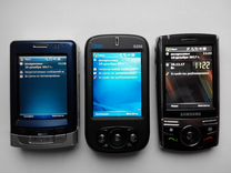 Смартфоны кпк SAMSUNG sgh-i710;Qutek S200;Mio A502
