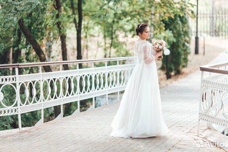Платье свадебное 48-50 размер  89204772286 купить 3