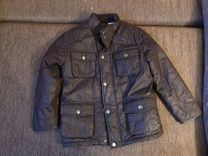 Куртка под кожу, б/у, размер размер 116