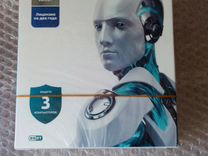 Антивирус Eset Nod 32. 3 компьютера. 2 года