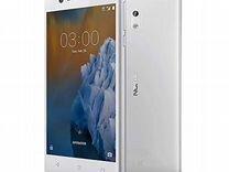 Nokia 3 Dual Sim Silver новый